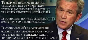 Bush in 2007 delivered eerily accurate warning about Iraq unrest