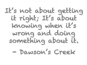 Dawson's Creek.