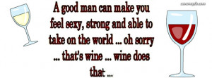 Wine does that Facebook Cover