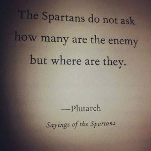 Spartans #Inspire #Strategy #Quote