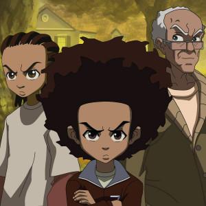 the-boondocks-main-characters-riley-freeman-left-huey-freeman-center ...