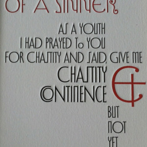 Saint Augustine, Confessions of a Sinner. Penguin Great Ideas