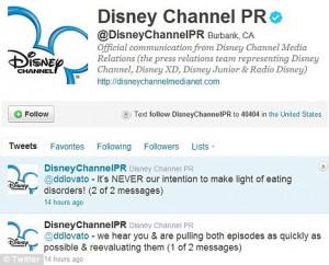 ... be an expensive faux-pah: Demi Lovato razes Disney for anorexia joke