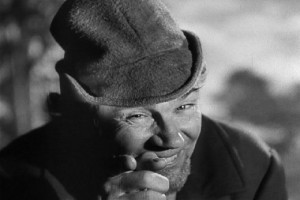 Description: John Huston speaks his mind as Mr. Scrath in the motion ...