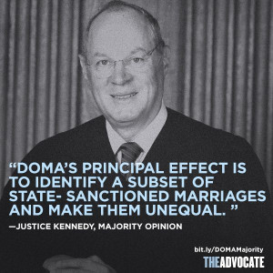 Best Quotes From Kennedy's Opinion on DOMA
