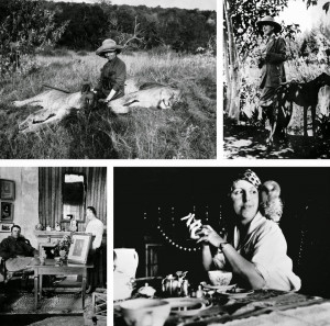 More images of Karen Blixen here