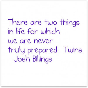 Quote about twins to use in gallery wall