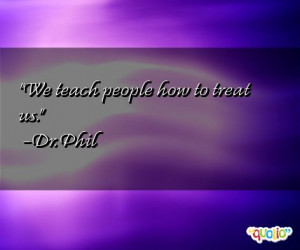 How We Treat People Quotes