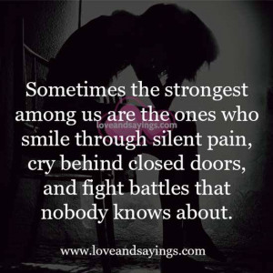 Quotes About Smiling Through Pain Quotes About Sa...