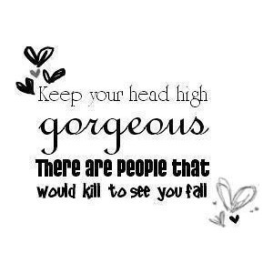 Youre pretty.