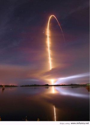 Night Time Space Shuttle Launch, amazing.. | Funny Pictures, Funny ...