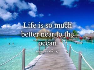 Ocean. I need a vacation!