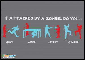 Home > View All Tshirts > Zombie Survival Dance