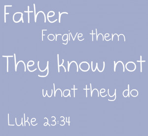This is my favorite verse from the Easter story in the Bible.