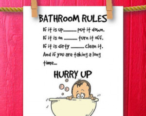 ... Bathroom Wall Quotes, Framed Quotes, Bathroom Humor, Bathroom Decor
