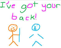 ve got your back cute quote drawings stick people photo back.jpg