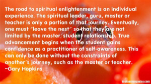 Top Quotes About Spiritual Enlightenment