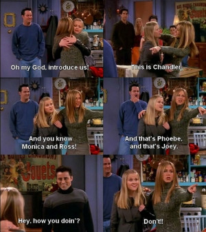 Friends TV Show Quotes