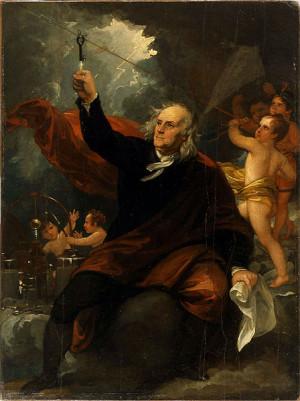 benjamin franklin 1706 1790 on june 15 1752 benjamin franklin proved ...