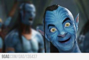 Mr. Bean on Avatar