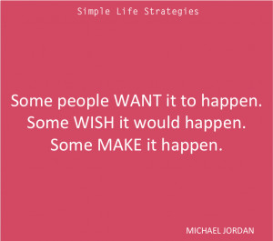 Make It Happen Quotes Michael Jordan