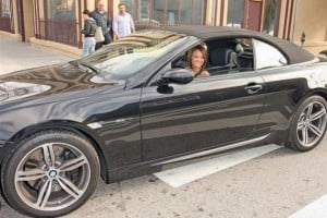 Tila Tequila drives BMW M6 Convertible