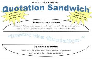 Quotation Sandwich