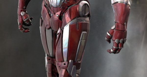 IRON MAN Mark 102 Red and White