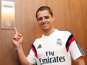Chicharito jugador del Real Madrid 2015 on imgfave