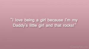 images of Love Being A Girl Because I M My Daddy S Little And That