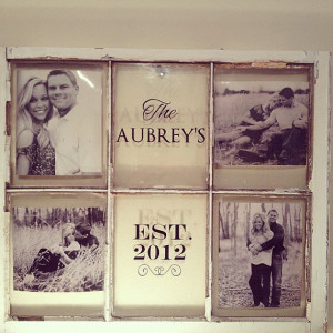 ... display at ceremony, or use wedding photos and hang in your new home