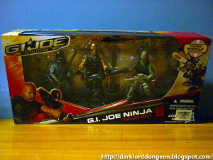 GI Joe Retaliation Ninja Dojo Set feat Kamakura, Roadblock and ...