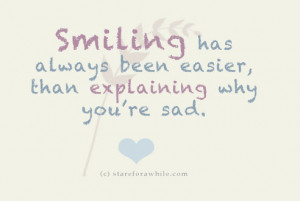 Smile Sad Quotes Pictures