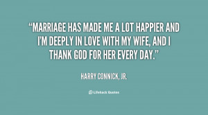 Harry Connick Jr Love Quote