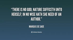 Marquis De Sade Quotes