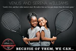 Venus and Serena Williams -