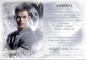 Rosalie et Emmett Cullen