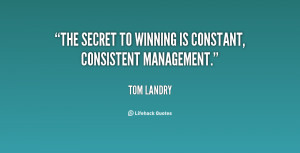 Motivational Quotes Tom Landry Health