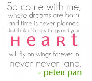 Pretty sure my little Peter Pan would fly away with the real one..