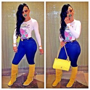 2013 outfits teyana taylor bun teyana taylor too dope shirt dont ...