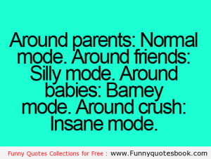 Your moods style with different peoples – Funny Quotes