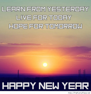 Happy New Year, and Hopes for 2014