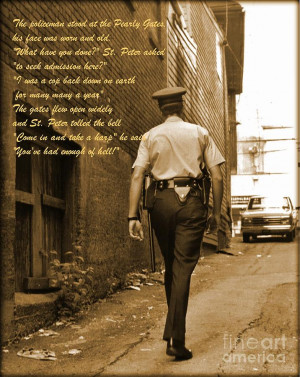 Police Poem Photograph
