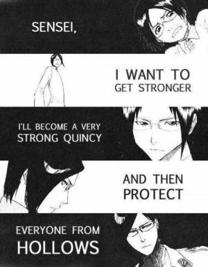 BLEACH Uryu Ishida Anime quotes