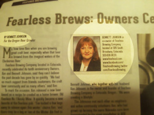 ... : The New School About Fearless Beer Journalism In Newspaper Picture