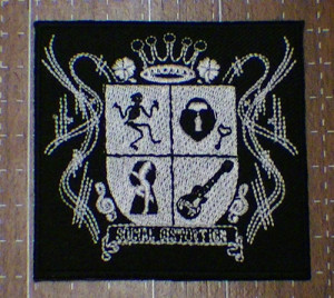 social distortion patch 7.5cm