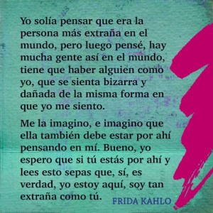 Frida Kahlo Artist Quotes