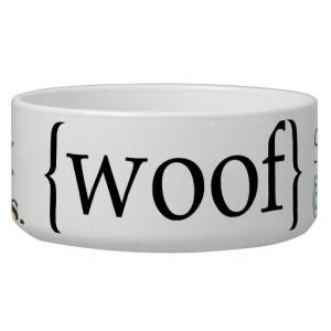 fun sayings dog pet bowl food or water dog bowls ...