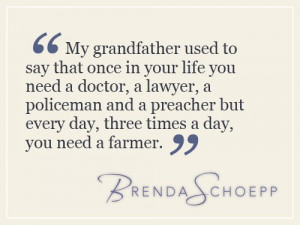 ... speaker whose heart is in agriculture. Check out her website here