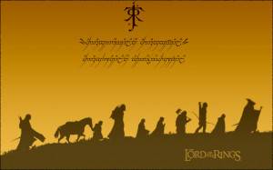 Lord of the Rings Wallpaper by Riku-Rocks